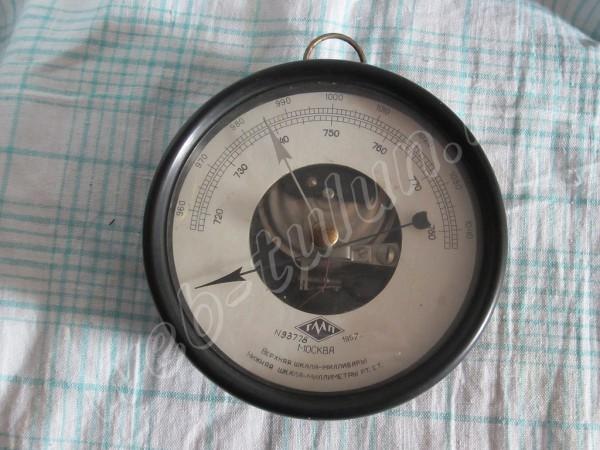 Настенный барометр-анероид 1957 г., альбом Вещи из СССР
