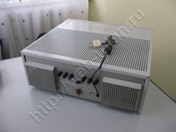 Ламповый стереофонический усилитель мощности ''Прибой-75УМ-104С'' 1989г. , альбом Вещи из СССР