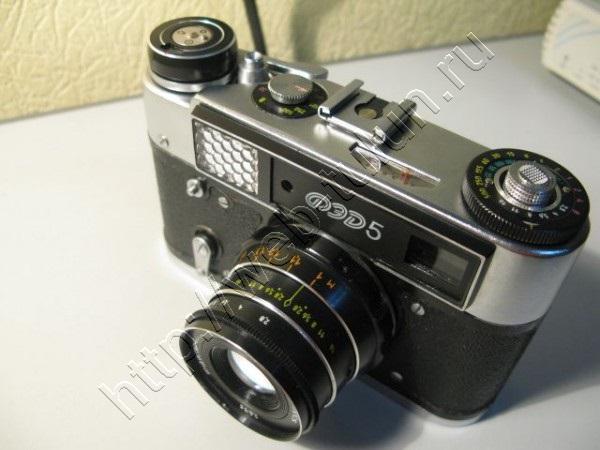 Фотоаппарат ФЭД-5 СССР, альбом Вещи из СССР
