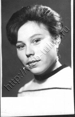 Людмила Ивановна Драгунова, 19 лет.13.09.1968г, альбом Люди из нашего прошлого