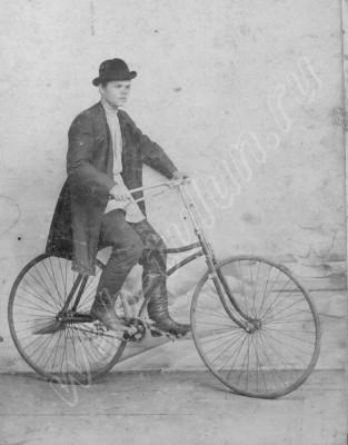Тулунский велосипедист. До революции., альбом Люди из нашего прошлого
