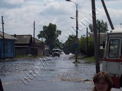 наводнение июнь 2006, альбом Город Тулун