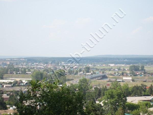 Вид на мост через реку ИЯ, альбом Город Тулун