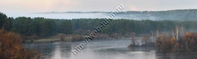 Туман над Иёй, альбом Природа Тулуна и нашего региона